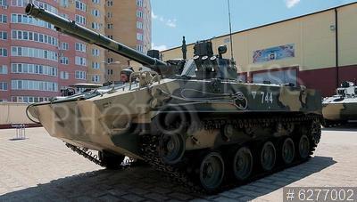 6277002 / Боевая машина десанта. 247-ой гвардейский десантно-штурмовой Кавказский казачий полк. Вручение боевой машины десанта БМД-4М.