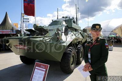 6292365 / Командно-штабная машина. Международный военно-технический форум `Армия-2021`. Открытие. Выставка вооружения и военной техники. Унифицированная командно-штабная машина Р-149МА1.