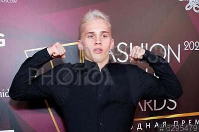 6295479 / Даня Милохин. Вручение премии `Fashion People Awards 2021`. Певец, блогер Даня Милохин.