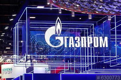 6300773 / Петербургский газовый форум. Петербургский международный газовый форум 2021. Стенд `ПАО Газпром`.